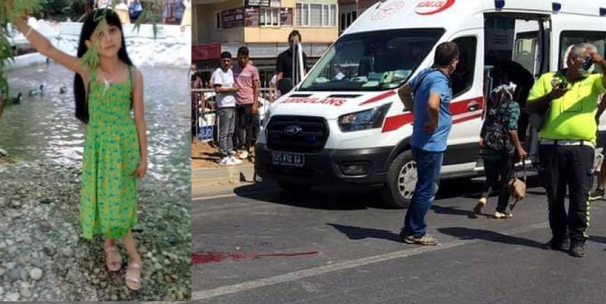 Okul üniforması almaya koşan Merve'ye kamyon çarptı, ağır yaralandı