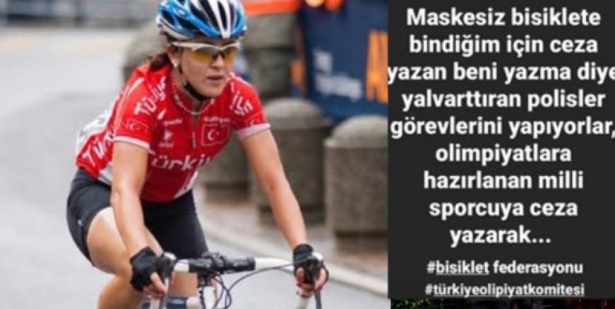 Olimpiyatlara hazırlanan milli sporcuya 'maske' cezası