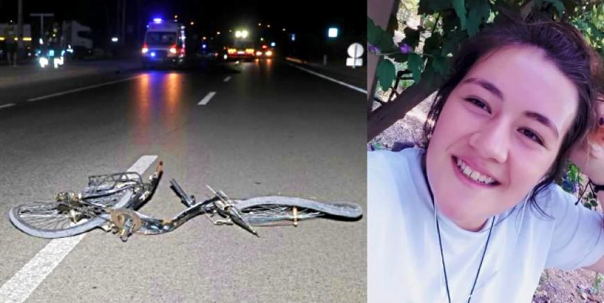 Otomobolin çarptığı genç bisikletli feci şekilde can verdi