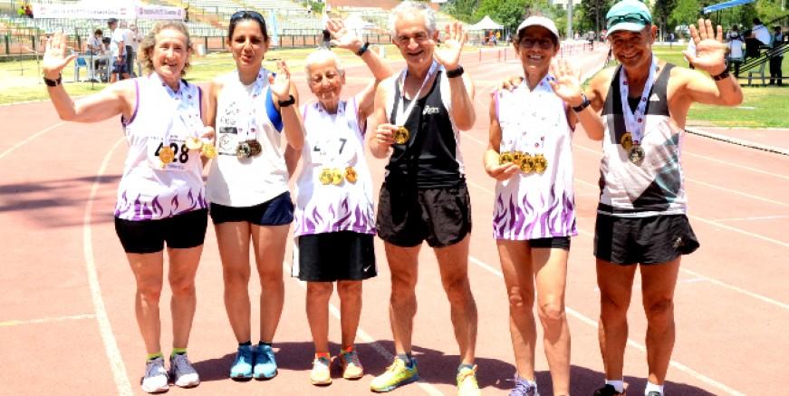 Pistleri yok ama, Bodrumlu atletler Türkiye Şampiyonası'ndan 6 rekor 17 madalya ile döndüler