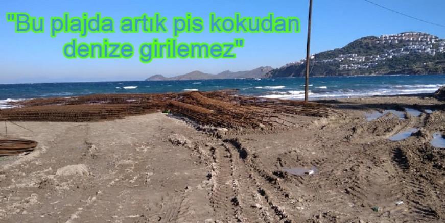Plajlar halka kapatılıyor diye üzülüyorduk, halk plajının ortasına pissu havuzu yapılıyor