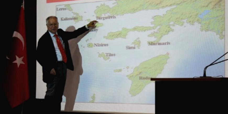 """Prof. Dr. Kaymakçı """"Adalarda ki Türkler asimile edilmeye çalışılıyor"""""""