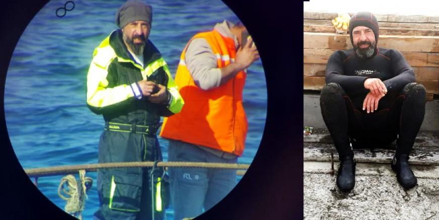 Profesyonel dalgıç tekne pervanesi temizlerken feci şekilde can verdi