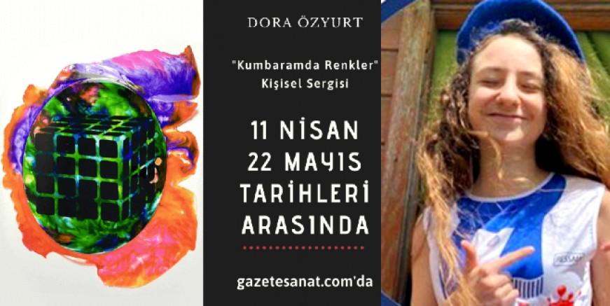 Ressam Dora Özyurt, sekizinci sınıfta 5. sergisini açtı