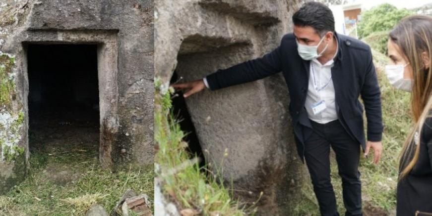 Roma Dönemi'ne ait kaya mezarları kültür turizmine kazandırılacak