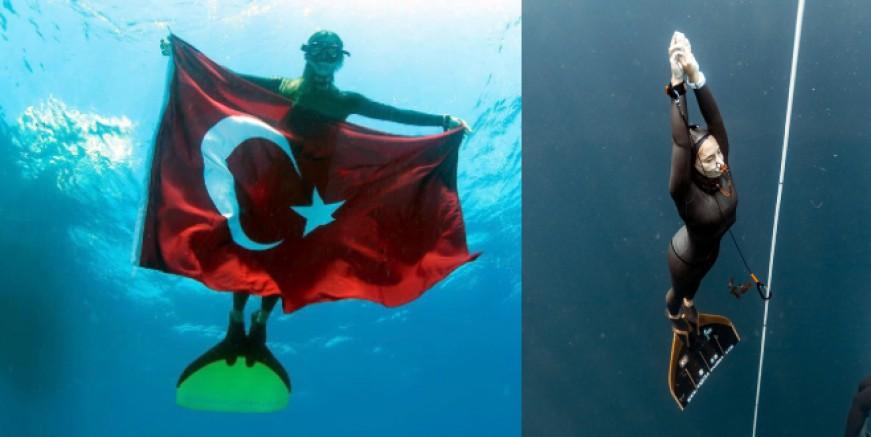 Şahika Ercümen Bahamalar'da Türkiye rekoru kırdı