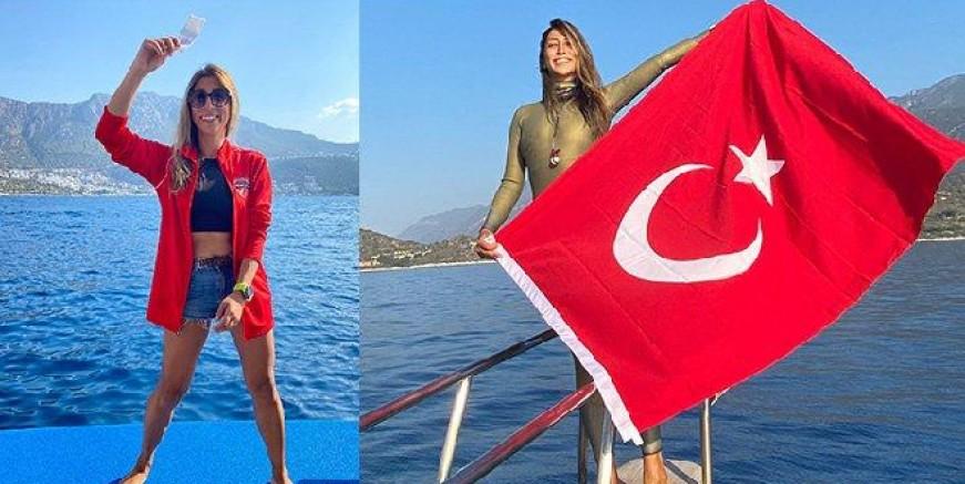 Serbest dalışçı Fatma Uruk: Milli Takım kampımda psikolojik şiddete ve ayrımcılığa maruz kalıyorum