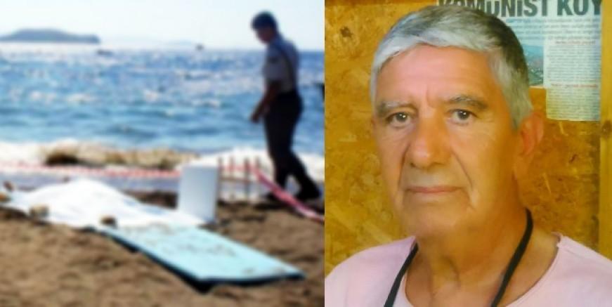 Turgutreis'te serinlemek için denize giren 67 yaşındaki adam yaşamını yitirdi