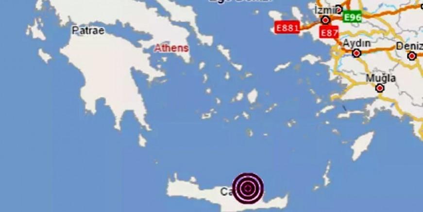 Son dakika! Girit adasında 6.3 deprem, Türkiye'nin birçok yerinden hissedildi