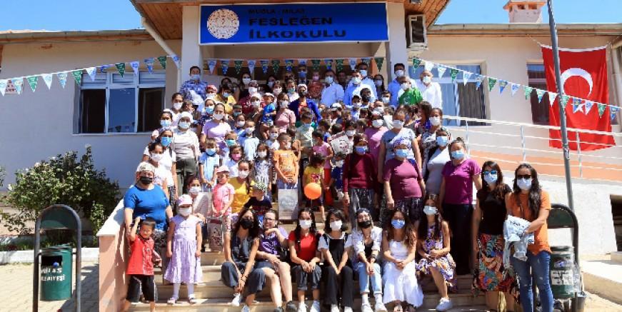 """Süt Birliği'nden yangın mağduru çocuklara """"Geleceğimizi Yeşertiyoruz"""" projesi"""
