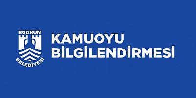 Bodrum Belediyesi: Akyarlar- Ali Hoca Burnu yolu trafiğe kapatılmayacak