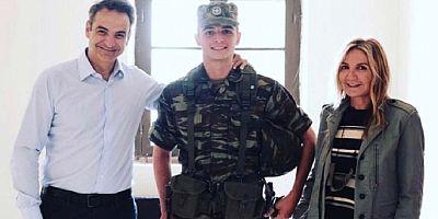 Türkiye sınırında askerliğini yapan Başbakan'ın oğlu terhis oldu