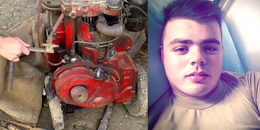 Tarlada su motorunu tamir ederken elektrik akımına kapılıp yaşamını yitirdi