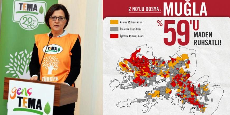 TEMA yöneticisi Ataç: Muğla'nın geleceği maden ruhsatları nedeniyle tehlike altında