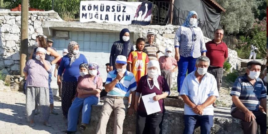 Termik santral nedeniyle susuz kalan köylüler isyan etti...