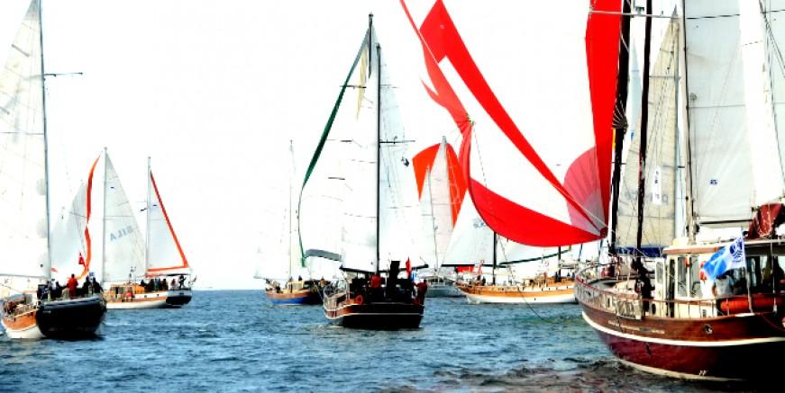 The Bodrum Cup'ta yelkenler sağlık çalışanları için açılacak.