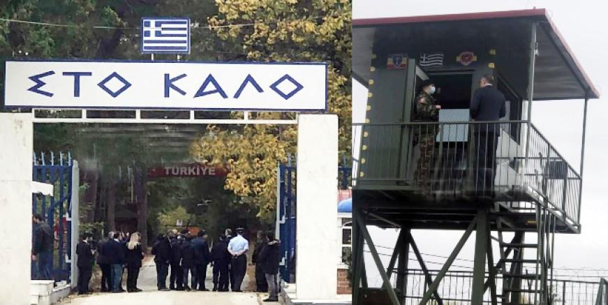 Theodorikakos Türkiye sınırında konuştu: Her türlü tehdit ve saldırıya cevap vermeye hazırız
