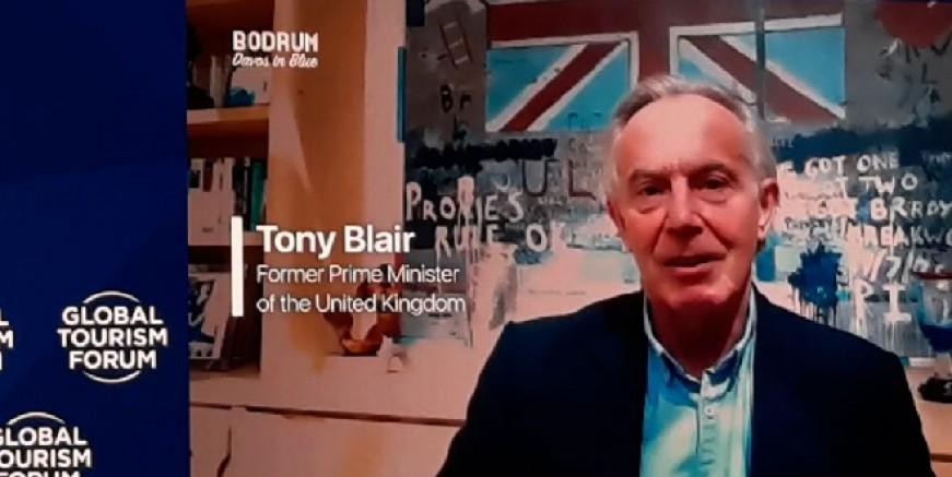 Tony Blair :100 milyon çalışan işsizlik ile karşı karşıya, aşıya ulaşmada küresel adalet sağlanmalı