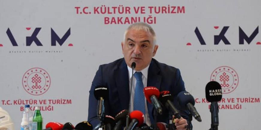 Turizm Bakanı Ersoy: 17 Mayıs'ta Vaka Sayısı 5 Bin Olacak