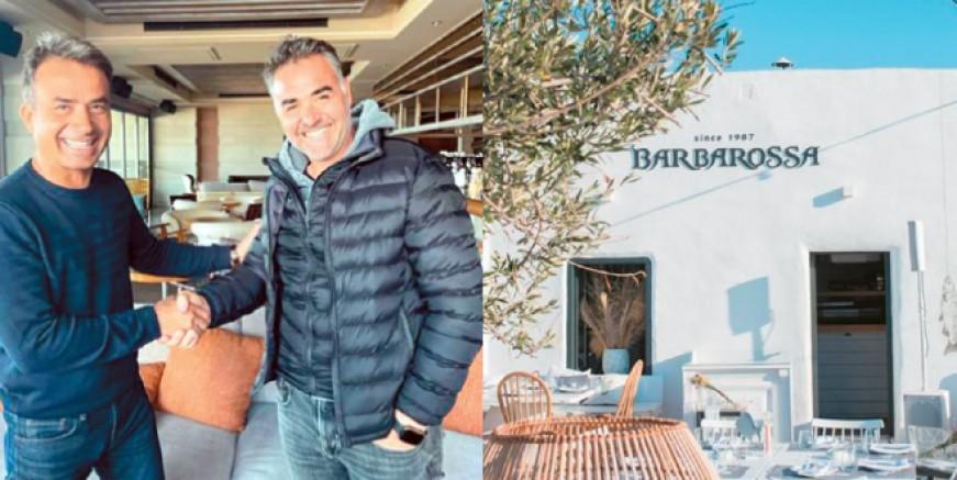 Türk ve Yunan iş insanları anlaştı. Paros'un dünyaca ünlü restoranı Barbarossa Bodrum' da açılıyor
