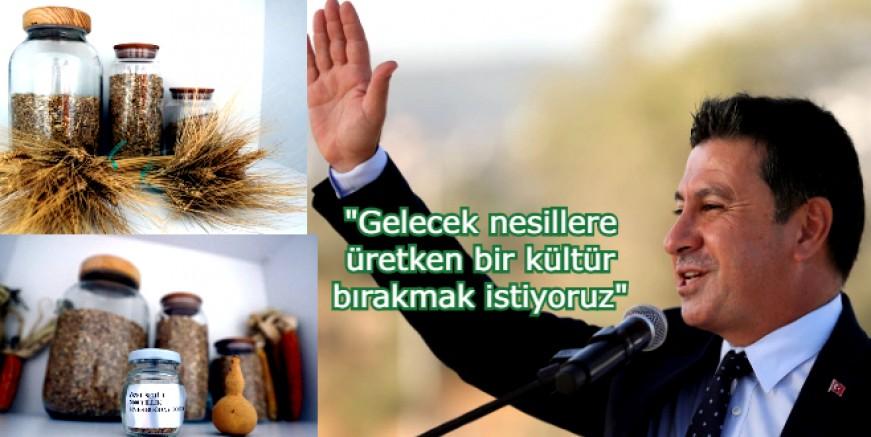Türkiye' nin 5. Yerel Tohum Merkezi Mumcular 'da  açıldı