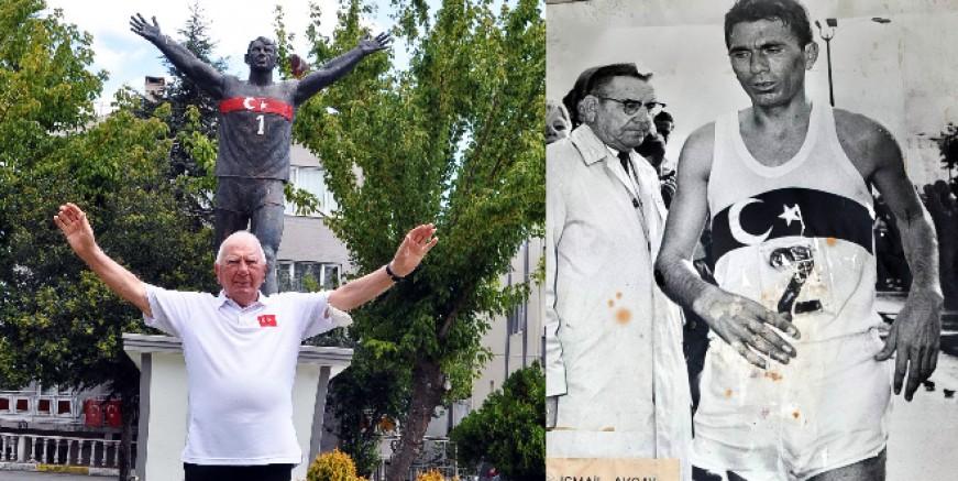 Türkiye  ve dünyada maratonun efsane ismi İsmail Akçay: Para için değil Bayrak için koştum