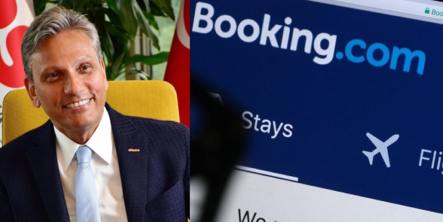 TÜRSAB Başkanı Firuz Bağlıkaya'dan Booking.com açıklaması