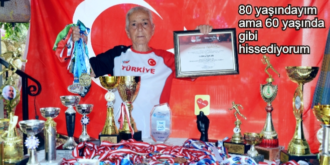 Uçan nine: Yaş sadece bir rakam.7 yılda 18 rekor, 200 madalya 45 kupa