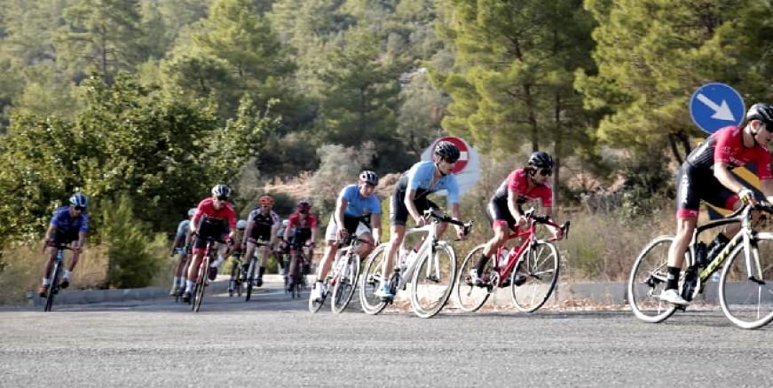 Uluslararası Patara Granfondo Bisiklet Yarışı başladı.