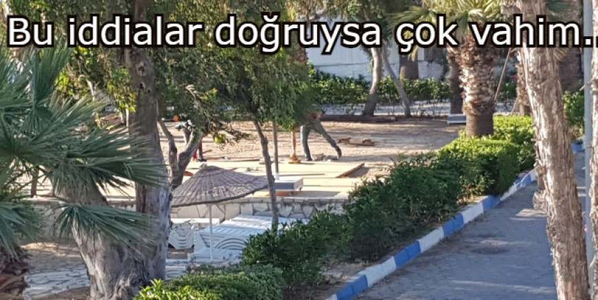 Yalıkavak'ta çocuk parkındaki oyun ve jimnastik aletlerini söktüler, otel masa sandalye ve şezlonglarını koyacak iddiası