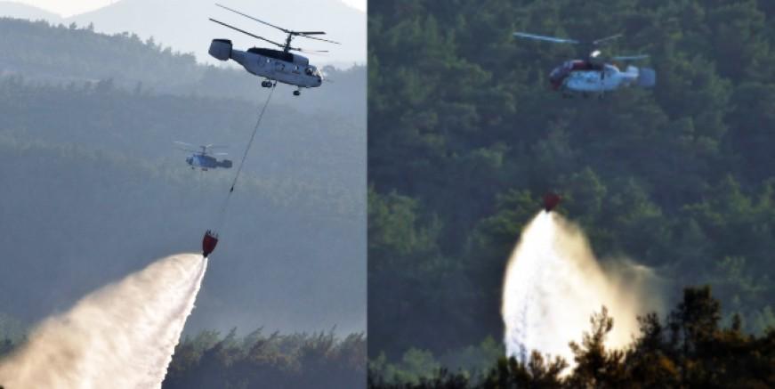 Yangınlar başladı, helikopterler geliyor, günlük kirası 87 bin TL.