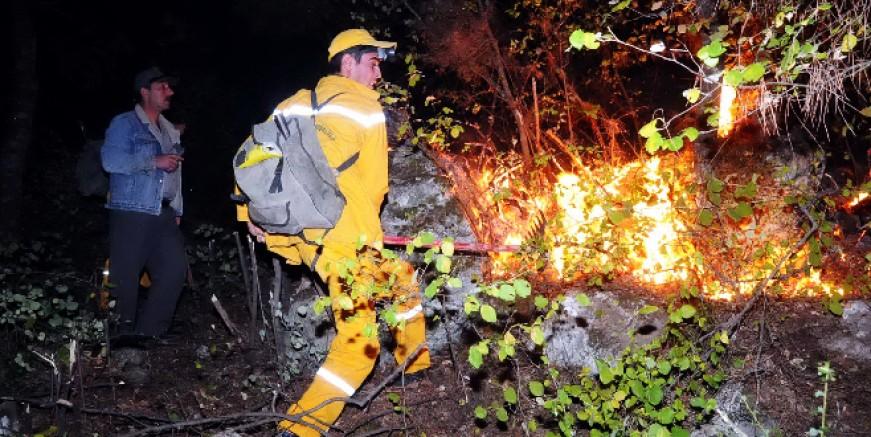 Yangınlara karşı ard arda uyarılar geldi
