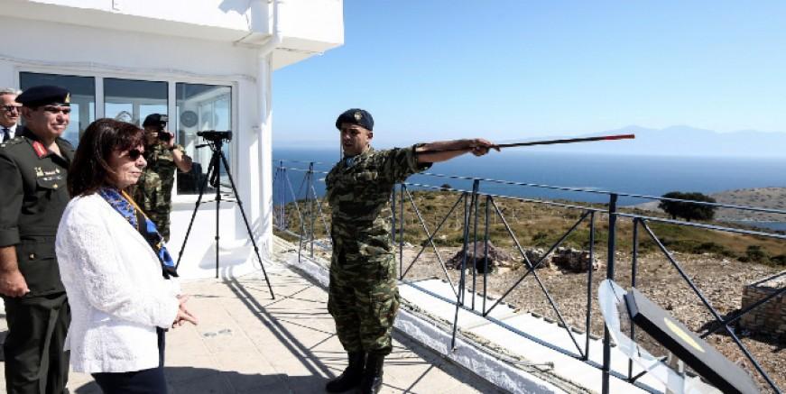 Yarın Meis'e gidecek Yunanistan Cumhurbaşkanı'na adanın altın anahtarı verilecek