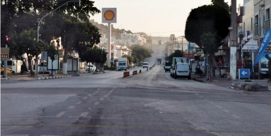 Yasaklar başladı, Bodrum terk edilmiş kasaba görünümüne büründü