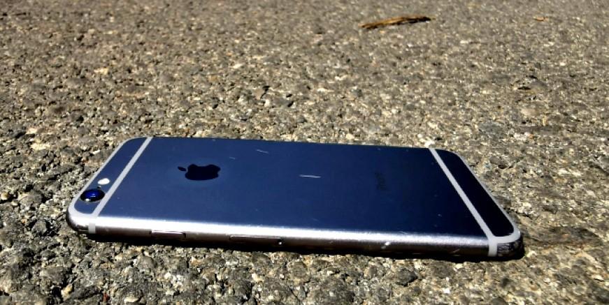 Yolda bulunan Apple Iphone telefonun sahibi aranıyor