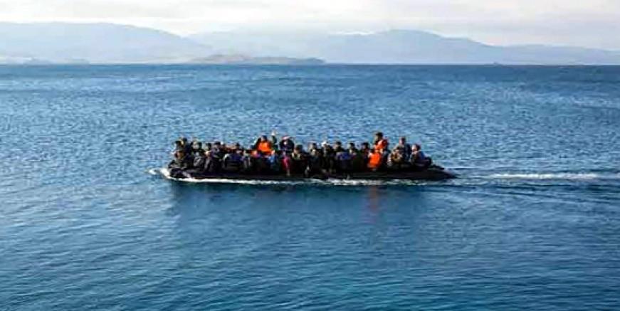 Yunan adasına geçen göçmenlerin üçünde pozitif vaka tespit edildi