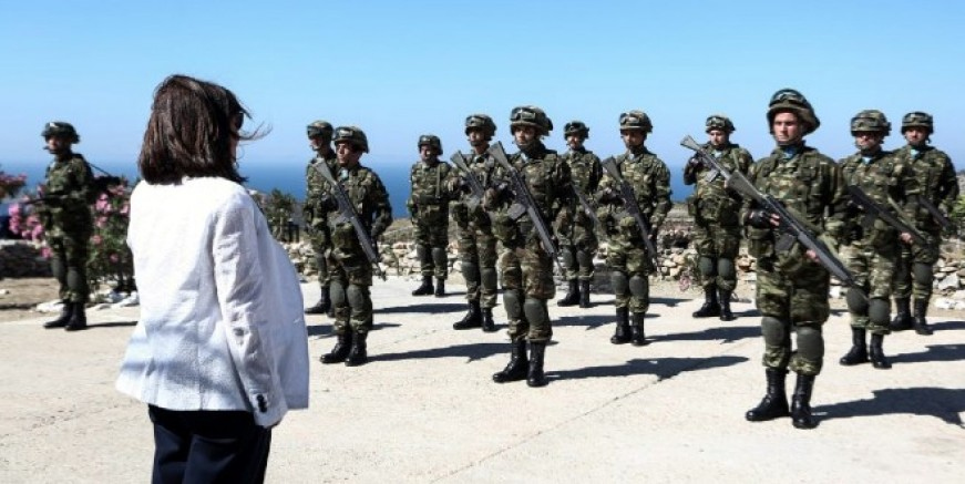 Yunanistan Cumhurbaşkanı Eşek Adası'nı ziyaret etti:  Türkiye ile iyi ilişkiler içinde olmak istiyoruz