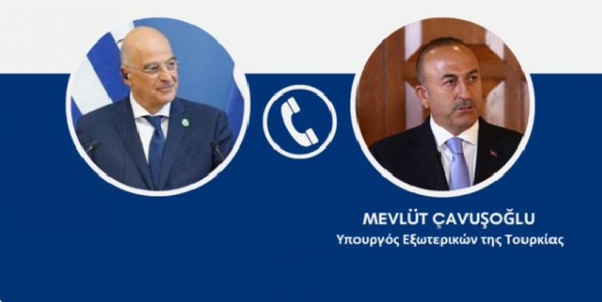 Yunanistan Dışişleri Bakanı Dendias'tan Çavuşoğluna: Türkiye'ye yardıma hazırız