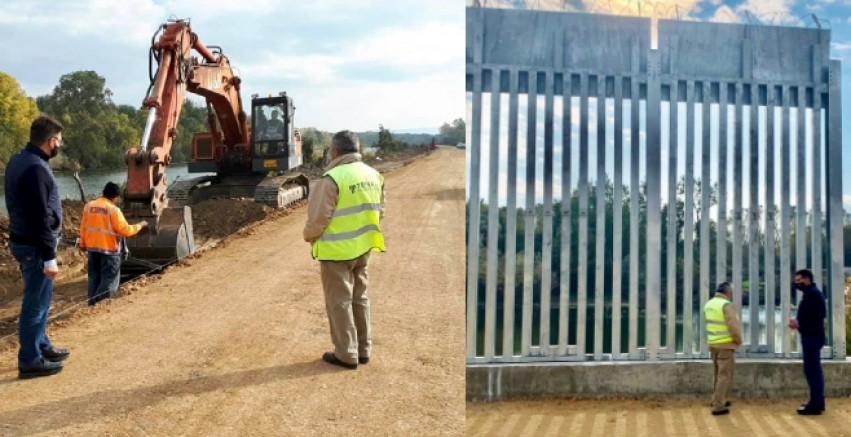 Yunanistan sınıra antibalistik gözetleme kulesi kuruyor