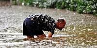 Bodrum'da sağanak yağış 2